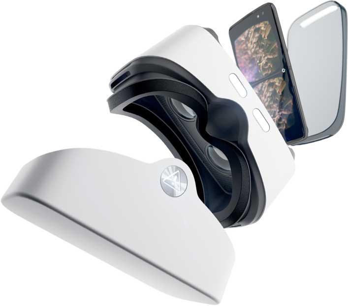 Alcatel VR goggles & IDOL4s