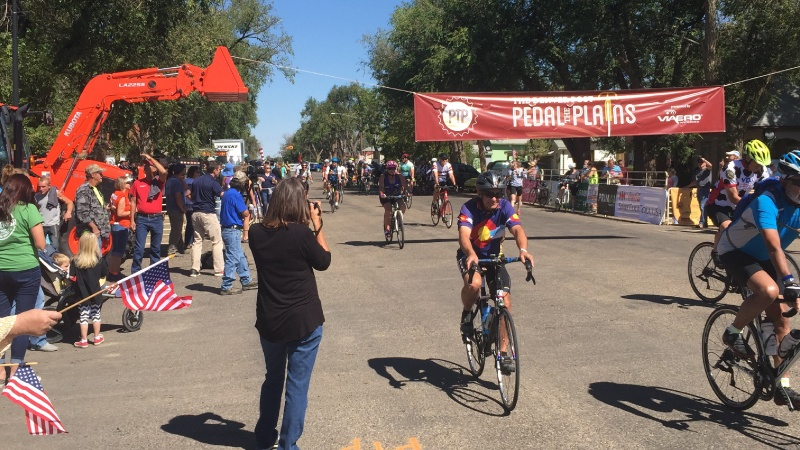 Pedal the Plains honors agricultural towns