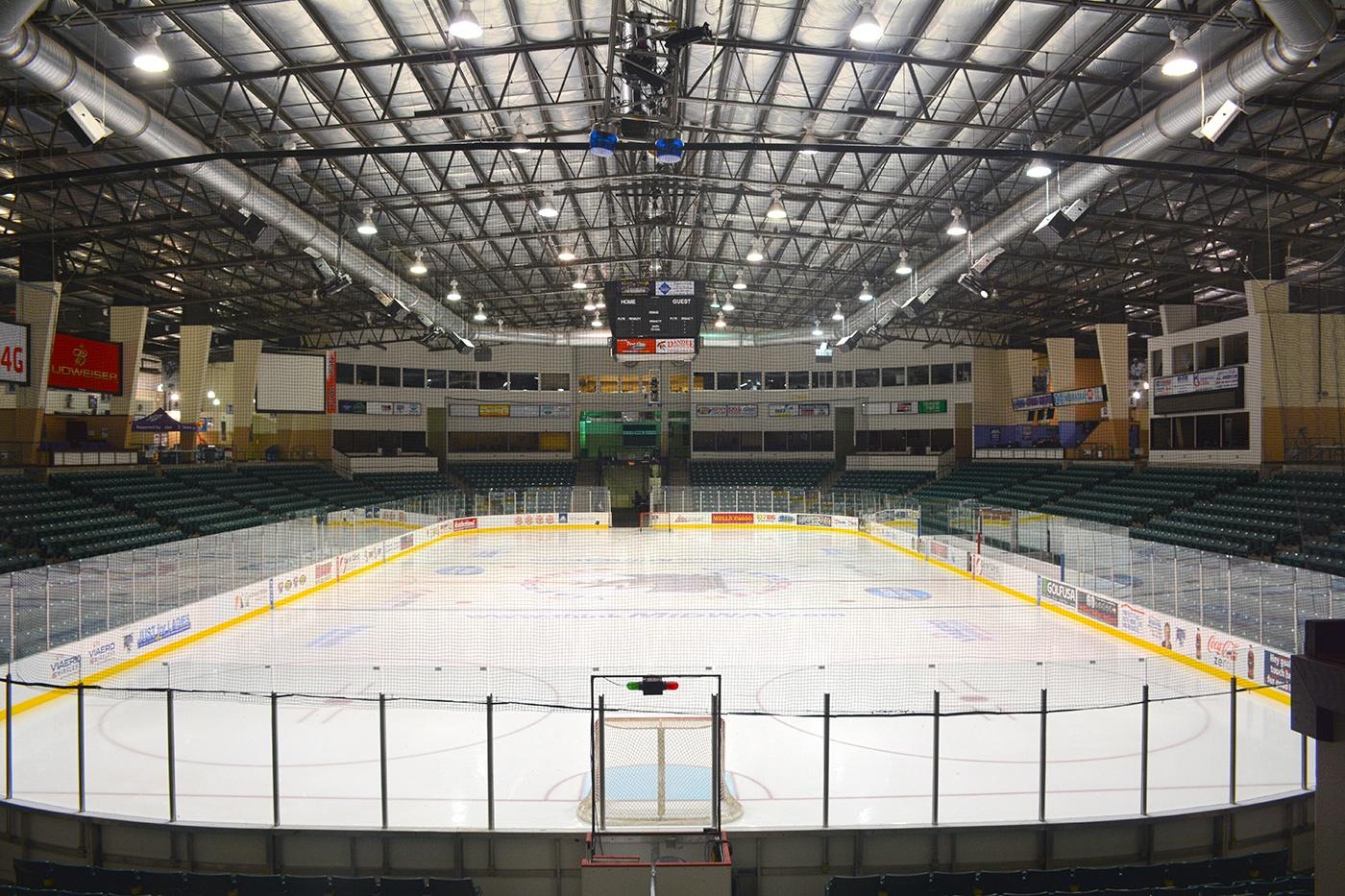 Viaero Events Center Ice Rink