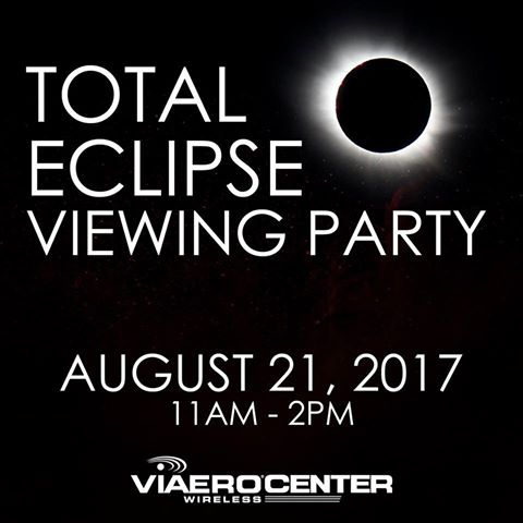 Total Eclipse Viewing Party at Viaero Center