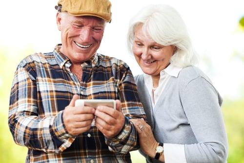 Older generations smartphone use