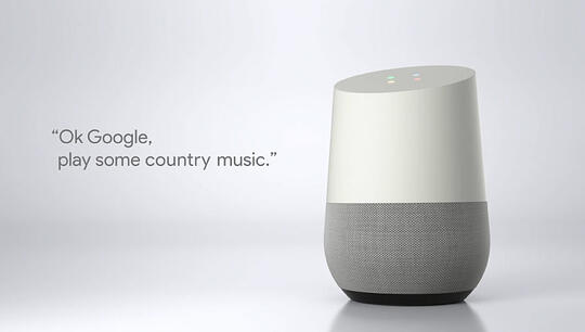 Voice-activated speakers trend