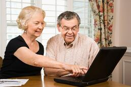 Grandparents stay connected with wireless technology