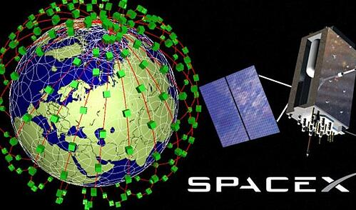 Elon Musk satellites via 'Steemit'
