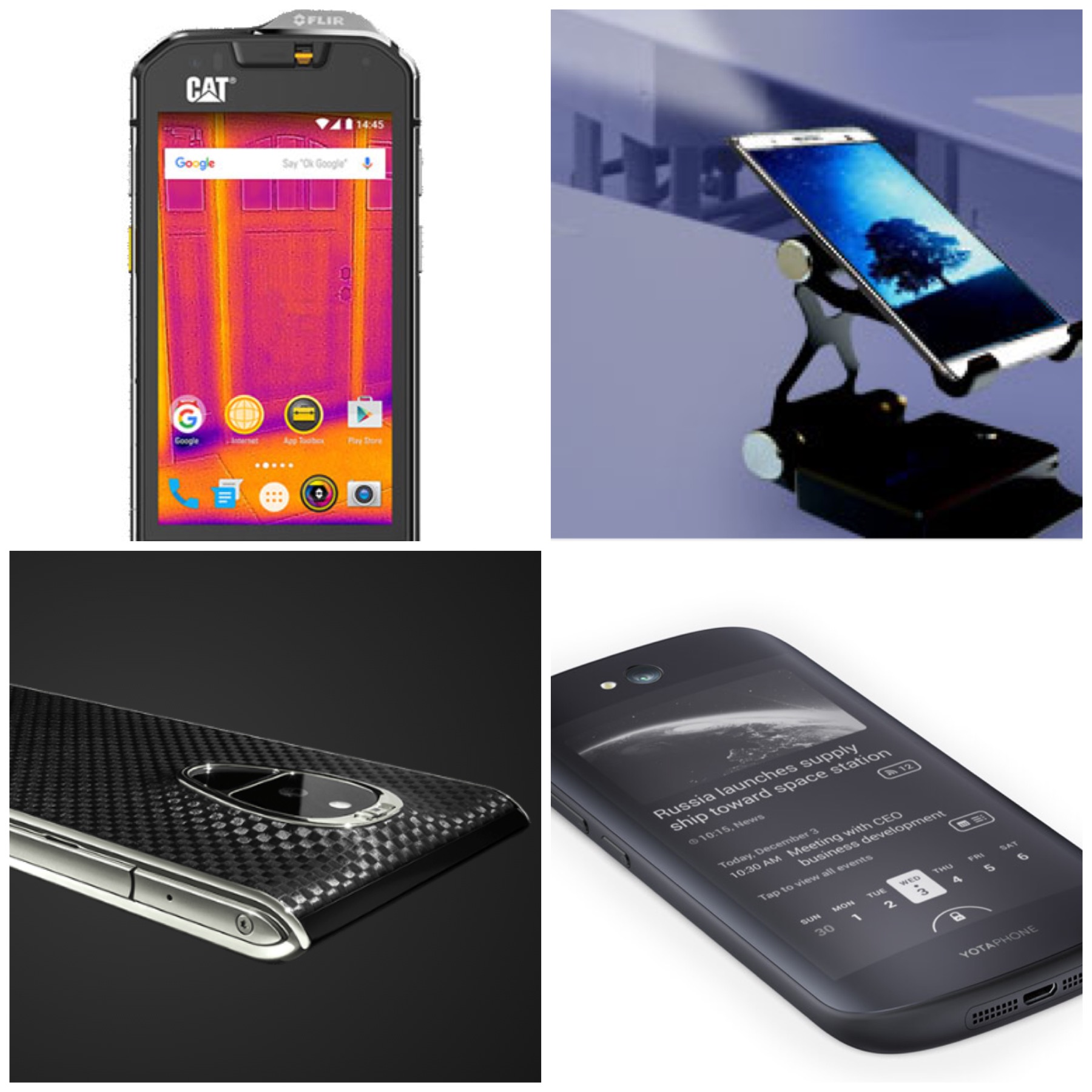 4 weird and cool smartphones